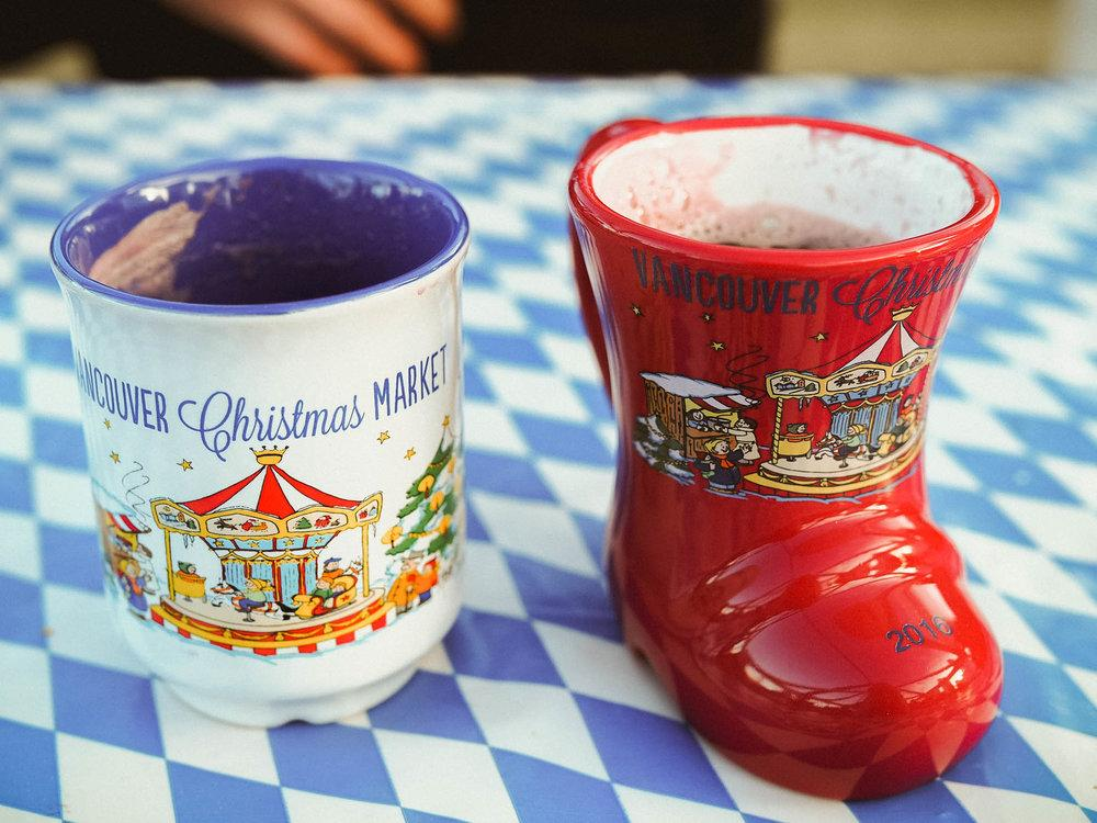Vancouver Christmas Market Mug.Vancouver Canada In December Visit The Vancouver Christmas